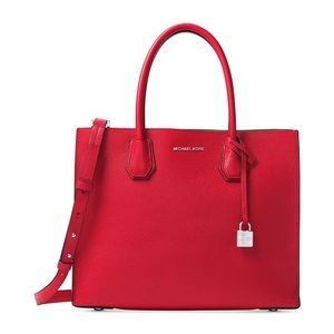 Studio Mercer Large Bright Red Tote bright red